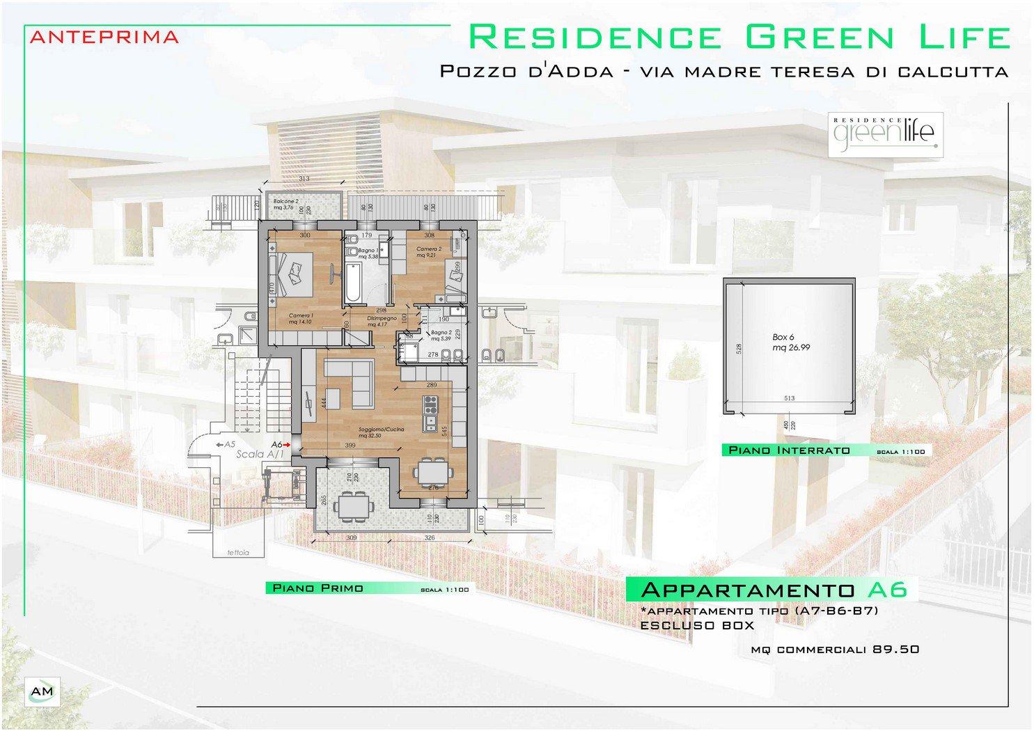 Progetto Appartamento 85 Mq appartamento classe a in vendita a pozzo d'adda